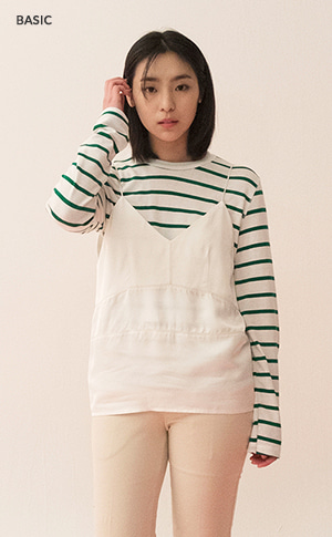 Wide Stripe T
