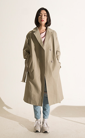 Jes Trench Coat