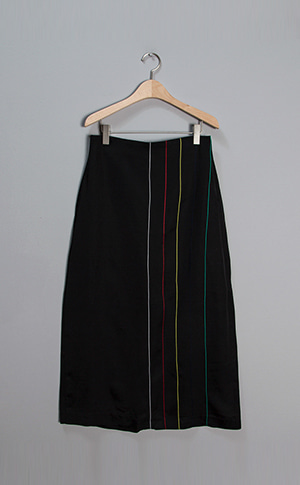Needlepoint Maxi Skirt