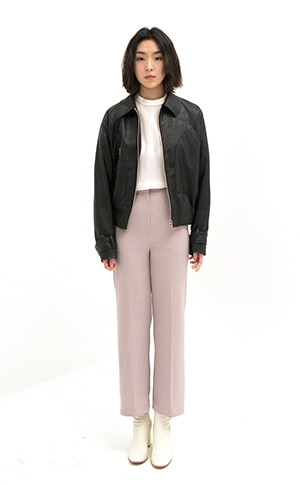 Soft Leather Blouson