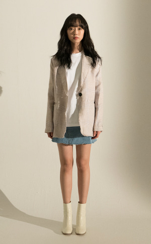 Big Glen Linen Jacket