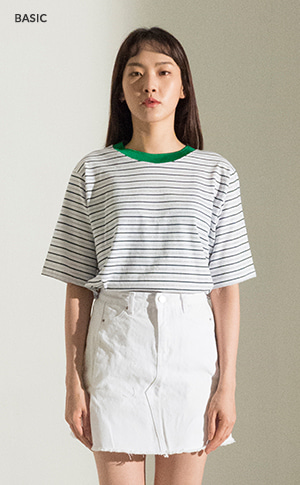 Metal Multi Stripe T