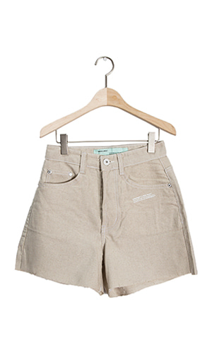 Linen Stitch Short Pants