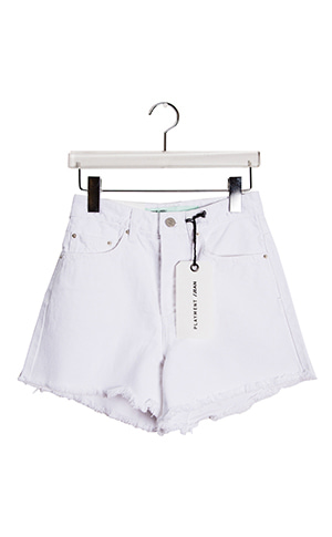 Pansy White Short Pants