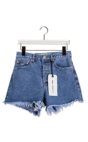 Pansy Denim Short Pants