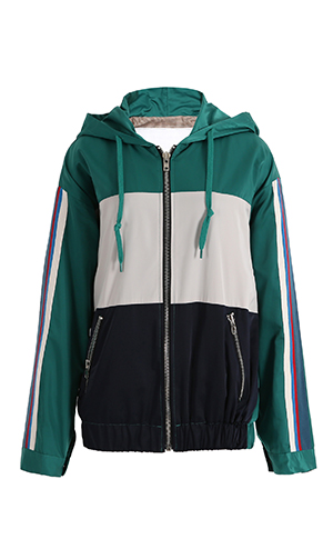 Coloring Hood Zip-up
